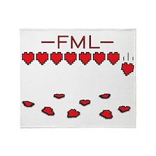 FML Throw Blanket
