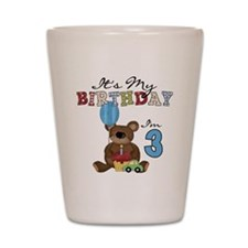 BEARTEDDY3RD Shot Glass