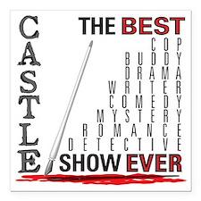 Castle_BestShowEver Square Car Magnet 3