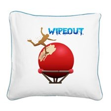 2-BigBall Square Canvas Pillow