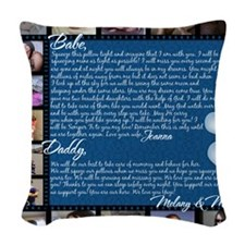 Joanna H Pillow 8 Woven Throw Pillow