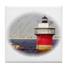 Bug Light Tile Coaster