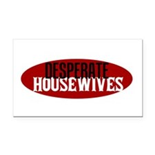 propertyofdesperatewh Rectangle Car Magnet