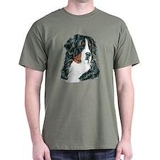 Bernese Mountain Dog Berner Dark Colored T-Shirt