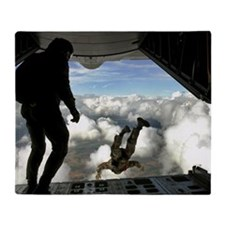 USAF PJ LFP Throw Blanket