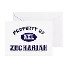 My heart belongs to zechariah Greeting Cards (Pack