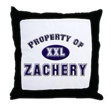My heart belongs to zachery Throw Pillow