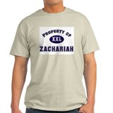 My heart belongs to zachariah Ash Grey T-Shirt
