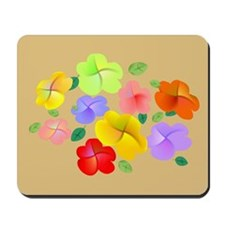 Spring Flowers in Bloom Mousepad