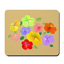 Spring Flowers in Bloom Mousepad