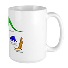 Colored Dinos Coffee Mug