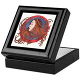 """Winter Muse"" Keepsake Box"