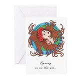 """Spring Muse"" Greeting Cards (Pk of 10)"