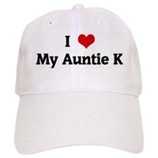 I Love My Auntie K Baseball Cap