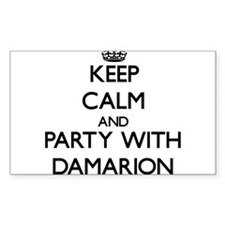 Keep Calm and Party with Damarion Decal