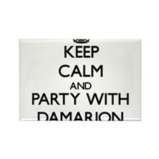 Keep Calm and Party with Damarion Magnets
