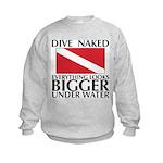 Dive Naked Kids Sweatshirt