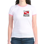 Dive Naked Jr. Ringer T-Shirt