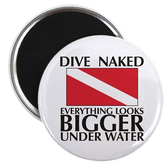 Dive Naked Magnet