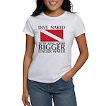 Dive Naked Women's T-Shirt