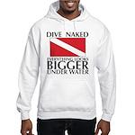 Dive Naked Hooded Sweatshirt