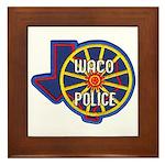 Waco Police Framed Tile
