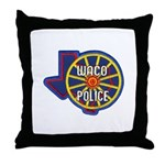 Waco Police Throw Pillow