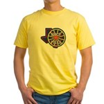 Waco Police Yellow T-Shirt