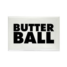 Butterball Rectangle Magnet (100 pack)