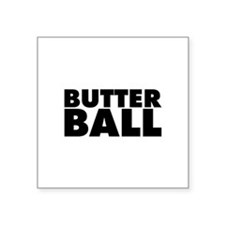 "Butterball Square Sticker 3"" x 3"""