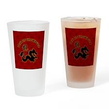 dragon_lapel-sticker Drinking Glass
