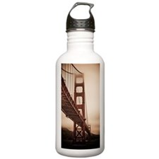 Golden Gate Bridge in  Water Bottle