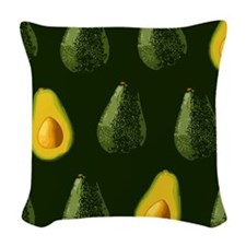 avocados_10x10 Woven Throw Pillow