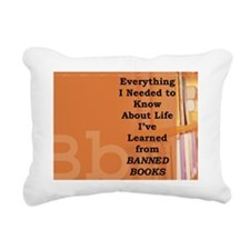 Bannedbooks2 Rectangular Canvas Pillow