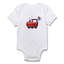 4th Birthday Train Infant Bodysuit