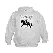 Dressage Horse Canter, Saying Hoodie