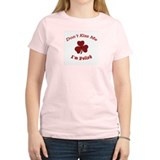 St. Patrick's Day For Us Poli Women's Pink T-Shirt
