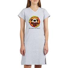 Defiant Monkey White Shirt Women's Nightshirt