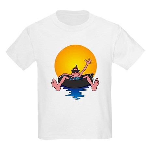 Tubing down the River Kids T-Shirt