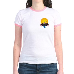 Tubing down the River Jr. Ringer T-Shirt