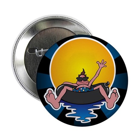 "Tubing down the River 2.25"" Button (10 pack)"
