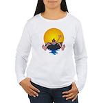 Tubing down the River Women's Long Sleeve T-Shirt