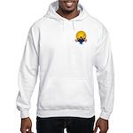 Tubing down the River Hooded Sweatshirt