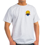 Tubing down the River Ash Grey T-Shirt