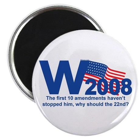 W in 2008 Joke Magnet