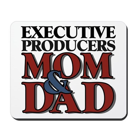 Executive Producers New Mom & Dad Mousepad