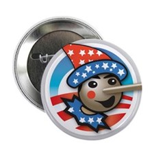 "Obama Lied 2.25"" Button"