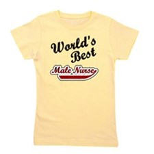 Worlds Best Male Nurse Girl's Tee