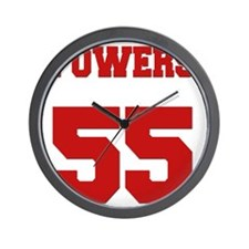 powers-back Wall Clock