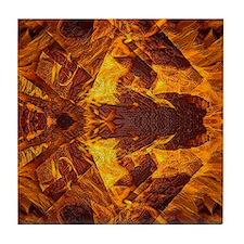 On Fire 1b Tile Coaster